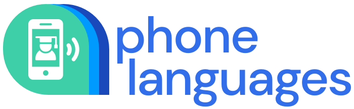 Phone Languages